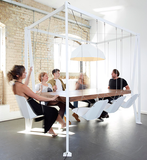 swing table 2 Swing Table by Duffy London