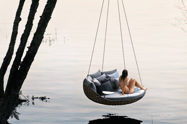 View In Gallery Swingrest Hanging Lounger From Dedon 7 Jpg