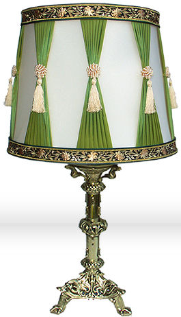 table lamp abat jour du moulin French Table Lamp by Abat Jour Du Moulin   the period lamp
