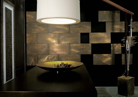 tagina design tile fucina Design Tile from Tagina   the Fucina tiles
