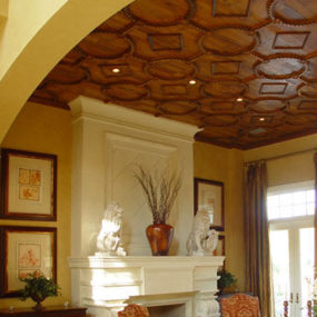 Architectural Woodwork by Taracea Custom – Old World style for high-end wood design