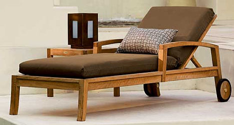 Teak Outdoor Furniture from Crate & Barrel – the Trovata outdoor furniture
