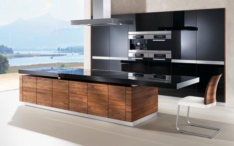 team 7 kitchen k 7 1 K7 Kitchen by Team 7   automated kitchen island with height adjustable worktop & more