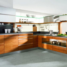 High-grade Wood Kitchen by Team 7 – the Linee Kitchen
