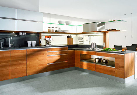 team 7 linee kitchen High grade Wood Kitchen by Team 7   the Linee Kitchen