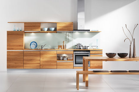 High Grade Wood Kitchen By Team 7 The Linee Kitchen