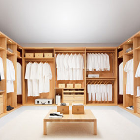 Custom Closet System by Team 7 – walk-in Wardrobe for high-end homes