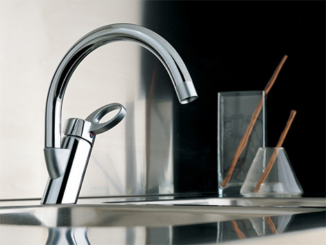 teknobili oz kitchen faucet Modern Faucets by Teknobili   Oz bathroom & kitchen faucet series