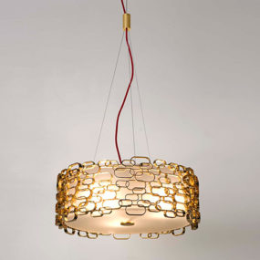 Glamour Table Lamp by Terzani – a romanitc light