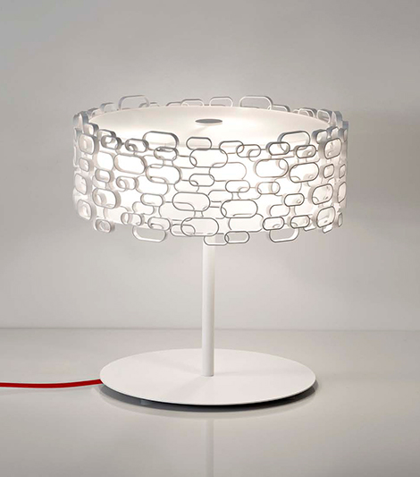 terzani glamour lamp 4 Glamour Table Lamp by Terzani   a romanitc light