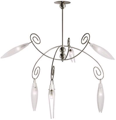 terzani oh madiana metal suspension Terzani Creole De Toi metal Suspension   a contemporary lighting fixture