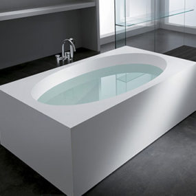 Feel from Teuco: a distinctive oval bathtub line