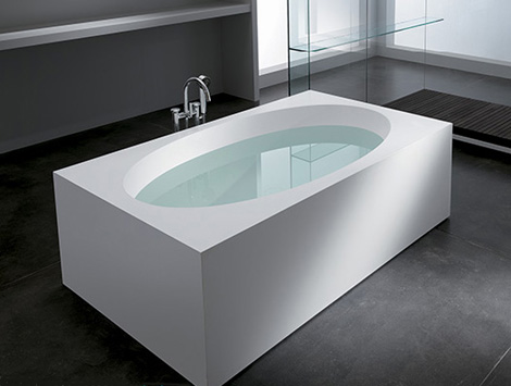 teuco bathtub feel 1 Feel from Teuco: a distinctive oval bathtub line