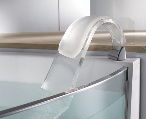Teuco bathtub View - backrest