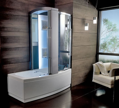 New Teuco Hydrosonic hydroshower - Sharade, a bathtub and shower ...