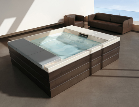 teuco hydrospa seaside 640 1 Outdoor Recessed Bathtub from Teuco   new Hydrospa Seaside 640