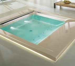 Teuco Seaside whirlpool tub – a Hydrotherapy spa