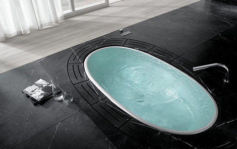 teuco sorgente bath tub Teuco Bathtub Sorgente   new whirlpool tub to sooth your worries away
