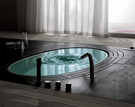 Teuco Bathtub Sorgente – new whirlpool tub to sooth your worries away