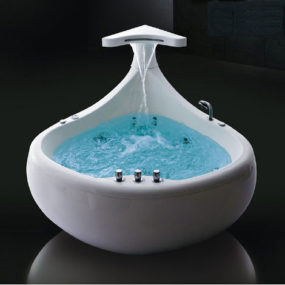 Thalassor Baleina Whirlpool Tub – 512 colors chromotherapy