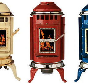 Porcelain Enamel Stove from Thelin – the rustic stoves