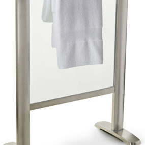 Towel Warmer from Thermique – the new Free Standing Glass Towel Warmer