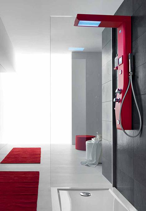thermostatic shower column hafro etoile 3