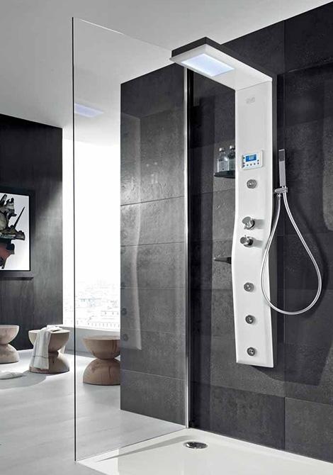 thermostatic shower column hafro etoile 4