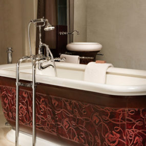 THG Paris Environment Hermes Leather Bathtub