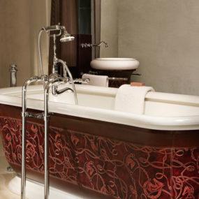 THG Paris Environment Hermes Leather Bathtub
