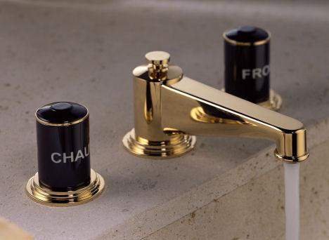 thg paris faubourg lav faucet THG Paris Faubourg Bathroom Faucets Collection by Pierre Yves Rochon