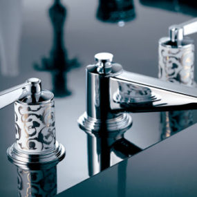 THG Paris Frivole Bathroom Faucet Collection by Pierre-Yves Rochon