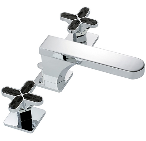 thg profil faucet black lalique crystal inlays Luxury Bath Products   the Bathroom Bling