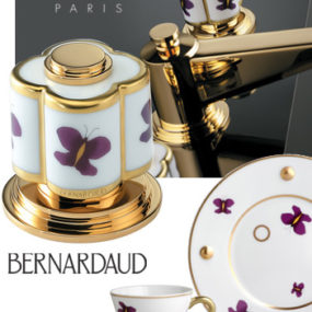 Luxury Faucets from THG Paris – new Bernardaud Porcelain faucet collection