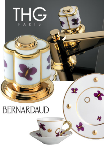 thgpar3041 Luxury Faucets from THG Paris   new Bernardaud Porcelain faucet collection