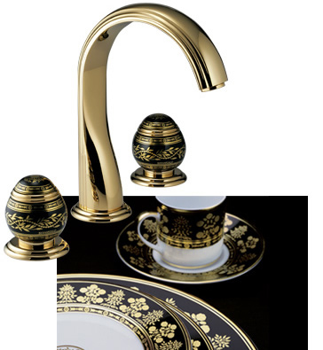 thgpar3042 Luxury Faucets from THG Paris   new Bernardaud Porcelain faucet collection