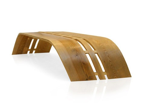 timber bench twist christopher pett Timber Bench Twist by Christopher Pett at Pli Design