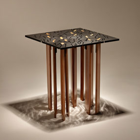 Designer End Tables – square design by Finne Architects