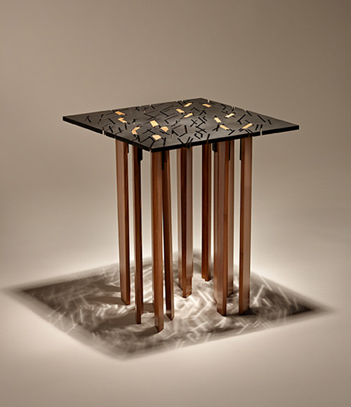 tind end table finne architects 1 Designer End Tables   square design by Finne Architects