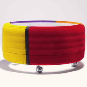 Tire table from Tavomatico defines Body Shop Chic