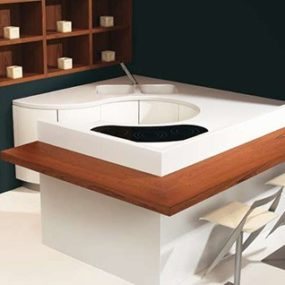 Compact Kitchen from TM Italia – Essenza Rapsody Lux