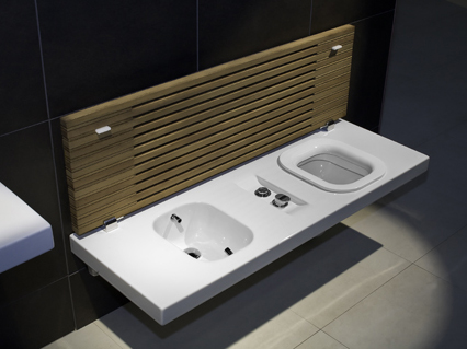 Toilet And Bidet Combo Toilet And Bidet Combination From Hatria  New Gfull Suspended System
