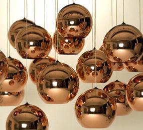 Copper Shade Pendant from Tom Dixon