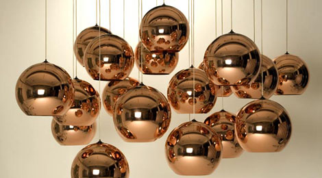 tom dixon copper shade pendants Copper Shade Pendant from Tom Dixon