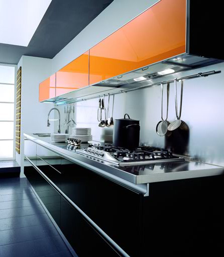 tomassi cucine contemporaty kitchen andromeda linear Contemporary Kitchen from Tomassi Cucine   Andromeda kitchen