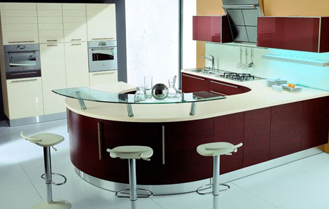tomassicucine kitchen opera 1 European Kitchen from Tomassi Cucine   Opera kitchen design