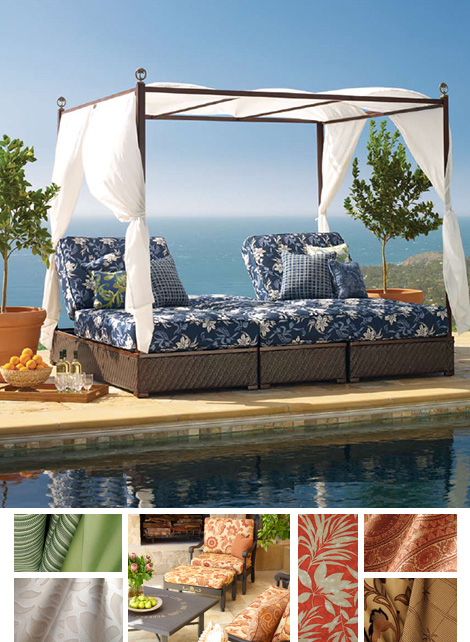 tommy bahama sunbrella wovens Tommy Bahama Outdoor Fabrics   new Sunbrella outdoor prints 2008