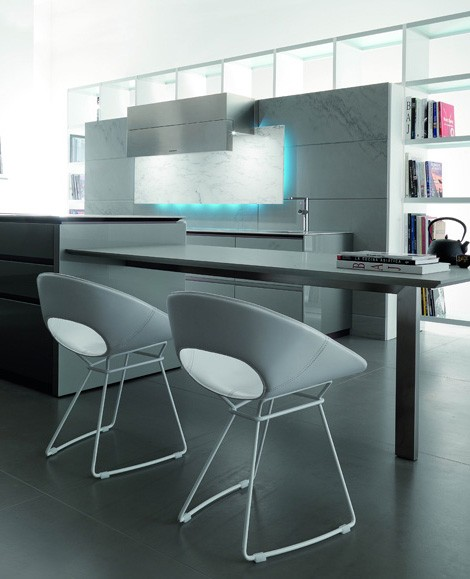 toncelli kitchen essential 4 Kitchen with LED Illumination from Toncelli creates a mood