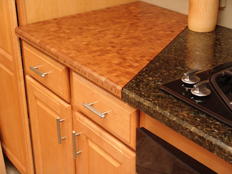 totally bamboo bamboo kitchen counter top Bamboo countertop from Totally Bamboo   ecologically friendly counter tops