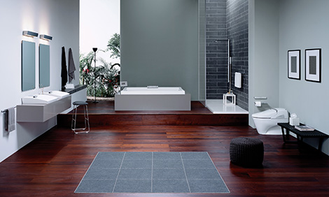 toto neorest bathroom TOTO Neorest Bathroom   Responsive and Interactive!